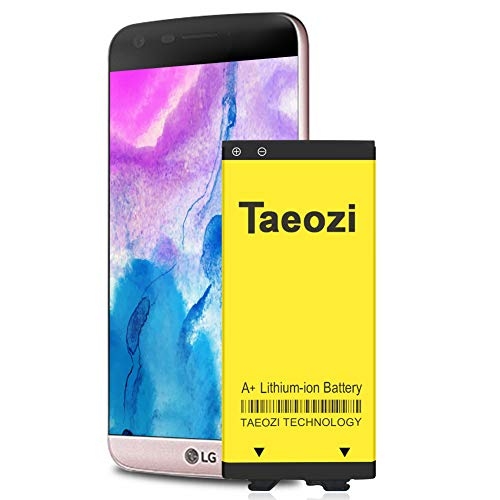 LG G5 Battery, [Upgraded] 3600mAh Li-ion Battery Replacement for LG G5 BL-42D1F VS987 Verizon,H820 at&T, LS992 Sprint,H830 T-Mobile, US992,H845 Dual H850 H858 Spare Battery[3 Years Warr]