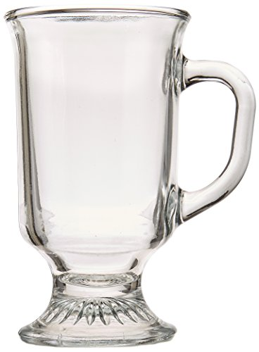 Anchor Hocking 8-oz Irish Coffee Mugs, Set of 12