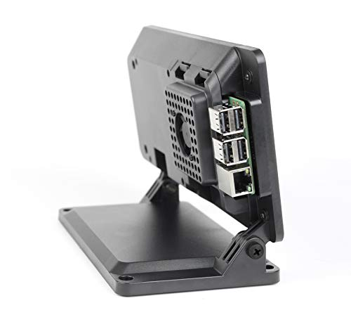 SmartiPi Touch 2 - Case for The Official Raspberry Pi 7' Touchscreen Display - with Cooling Fan