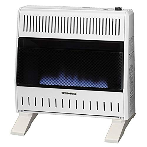 Pro Com Dual Fuel Blue Flame Ventless Wall Heater – 30,000 BTU