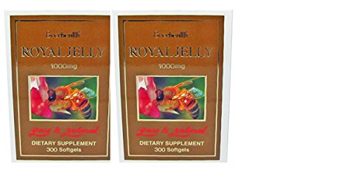 Everhealth Royal Jelly 1000mg 600 Capsules Dietary Supplement