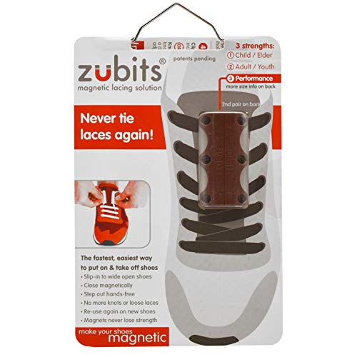 ZUBITS Magnetic Lacing Solution, No Tie Easy Long-Lasting Shoelace Magnets