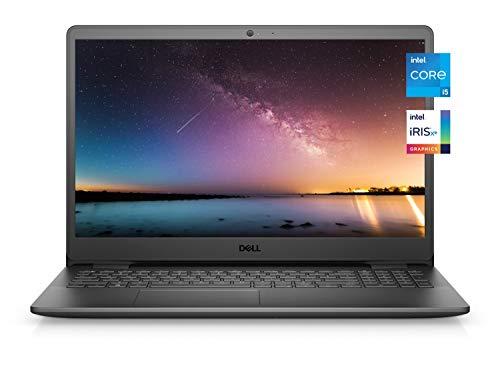 2021 Newest Dell Inspiron 3000 Premium Laptop, 15.6 FHD Display, Intel Core i5-1135G7, 12GB DDR4 RAM, 512GB PCIe SSD, Online Meeting Ready, Webcam, WiFi, HDMI, Windows 10 Home, Black