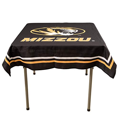 College Flags & Banners Co. Missouri Tigers Logo Tablecloth or Table Overlay
