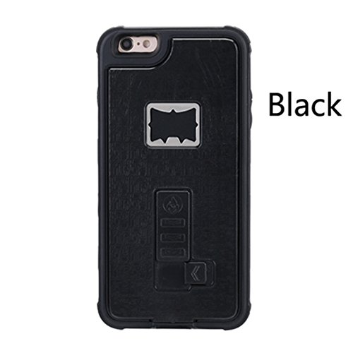 Sloskei iPhone 6/6s case,Outdoor multifunctional lighter cover built-in cigarette lighter / bottle opener for iPhone 6/6s Case
