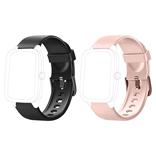 LETSCOM Replacement Band for Fitness Tracker, Smart Watch Straps for Fitness Watch ID205L and ID205S