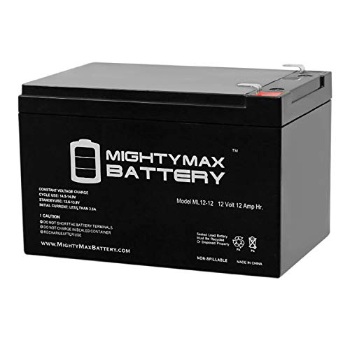 Mighty Max Battery 12V 12AH Replacement Battery for 6-DGM-12, 6-FM-12 Brand Product