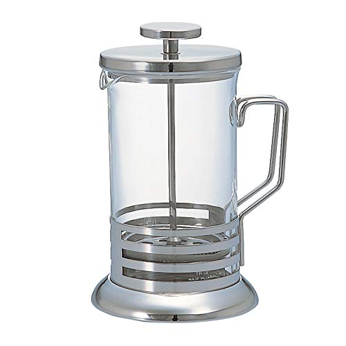 Hario Harior Bright Coffee or Tea Press Silver 600ml