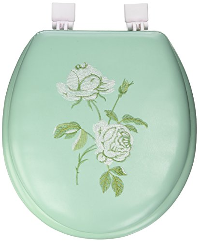 Uniware 17 Inch Advanced Soft Embroidery Toilet Seat (Flowers)