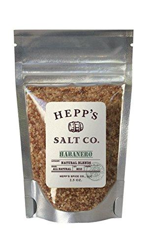Hepp's Salt Co. Habanero Sea Salt 2.5 OZ.