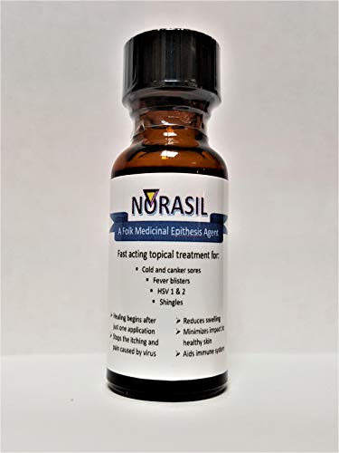 Norasil Ointment - A Highly Effective Treatment for Those Suffering from: Canker and Cold sores, Fever blisters (HSV-1), genital Herpes (HSV-2), Shingles, Eczema, rosacea, and Rash.