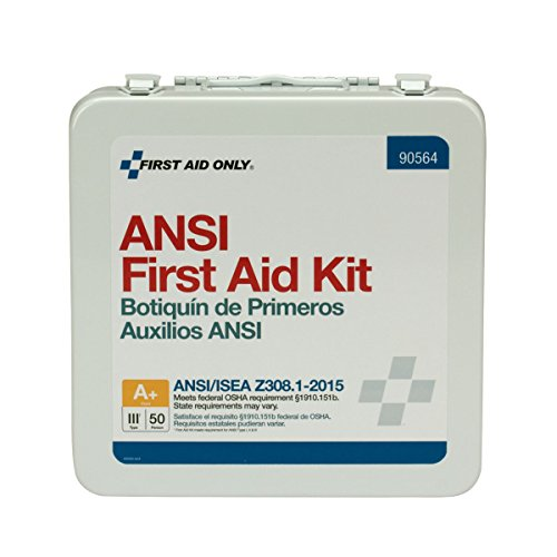 First Aid Only 90564 50 Person Bulk ANSI A+ First Aid Kit