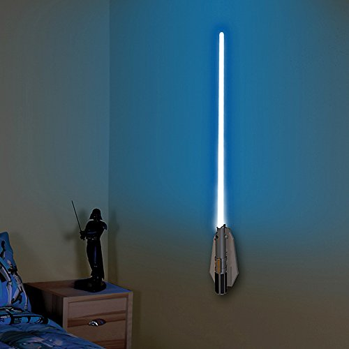 Uncle Milton Lightsaber Room Light Luke Skywalker 3D Wall Décor