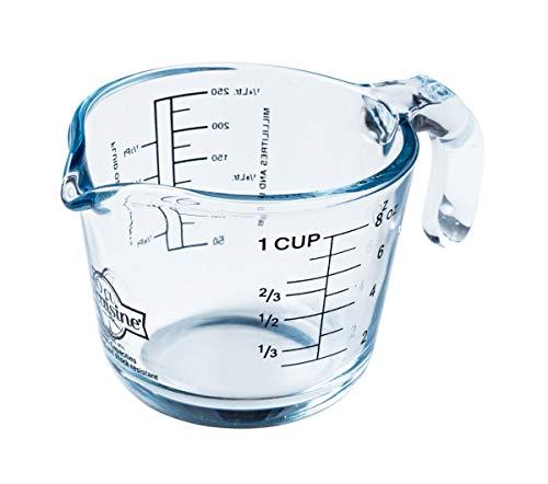 Arcuisine Borosilicate Glass Measuring Cup 8.45 oz.