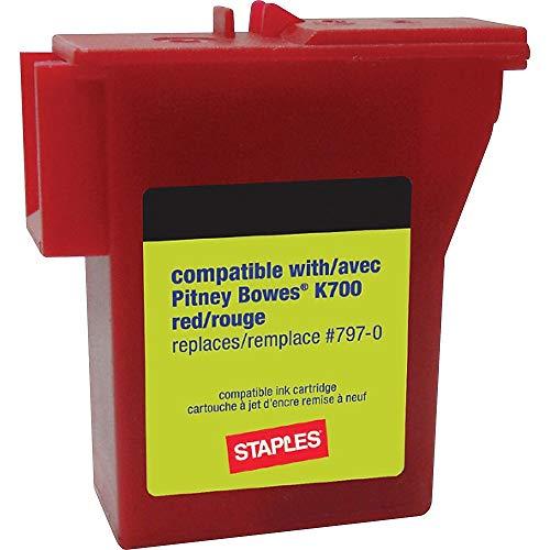 Staples 756927 K700 Postage Meter Ink Cartridge for Mailstation Series Meters