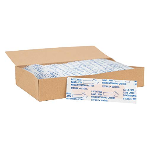 American White Cross Adhesive Bandages, Sheer Strips, 3/4' x 3', Case of 1500,28854