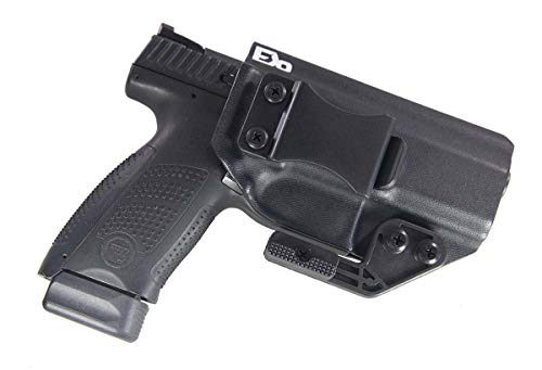 Fierce Defender IWB Kydex Holster CZ P10C The Paladin Series -Made in USA- (Black)