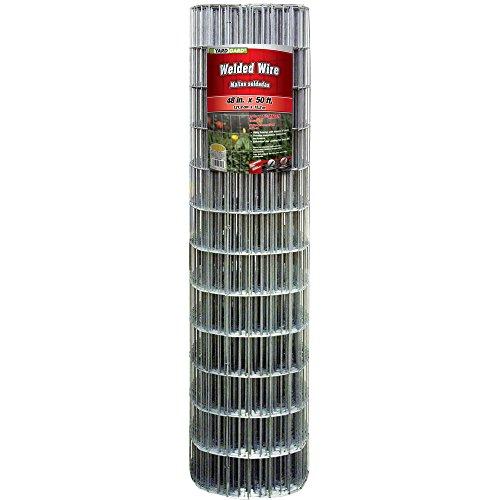 YARDGARD 308302B Fence, 48' x 50'/4' x 2', Color - Galvanized