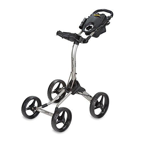 Bag Boy Quad XL Push Cart Silver/Black Quad XL Push Cart