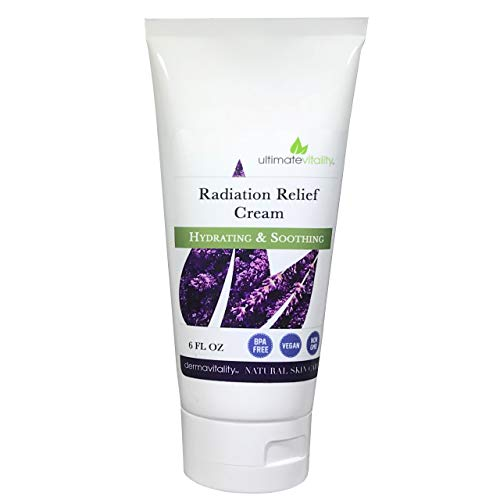 Radiation Burn Relief Cream 6 Ounces - All Natural Paraben, Sulfate Pthalate and Petro Chemical Free Radiation Burn Relief, Natural Radiation Treatment Cream for Radiation Therapy Skin Relief