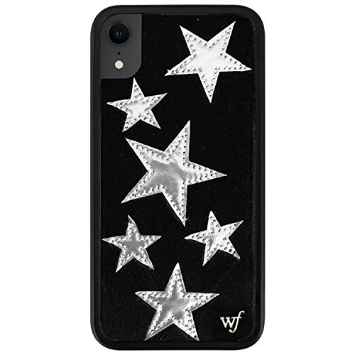 Wildflower Limited Edition Cases Compatible with iPhone XR (Black Velvet Stars)