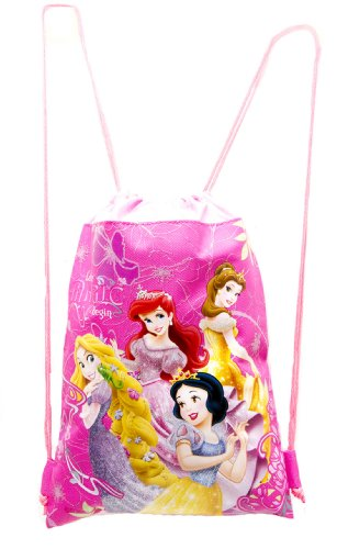 Disney Princess Hot Pink Drawstring Bag