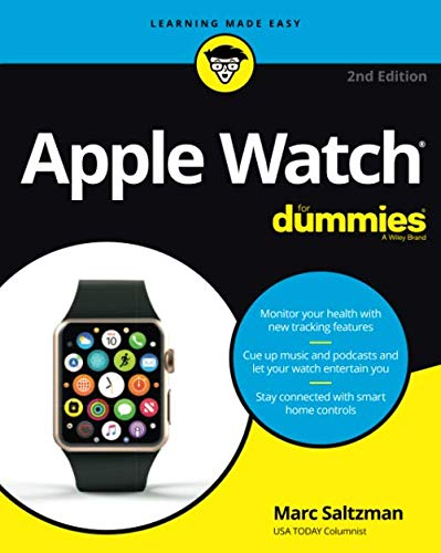 Apple Watch For Dummies, 2nd Edition