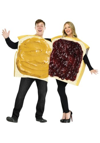 Adult Peanut Butter and Jelly Costume Standard