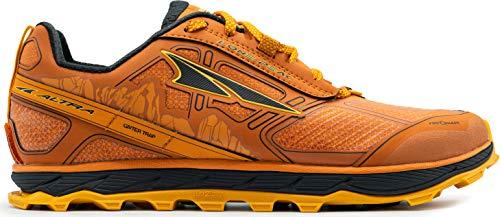 ALTRA Men's ALM1855L Lone Peak 4 Low RSM Waterproof Trail Running Shoe, Burnt Orange - 10.5 M US