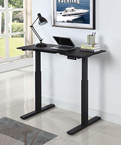 Coaster Home Furnishings Coaster Casual Sit-Stand Writing Desk with Memory Settings, Black
