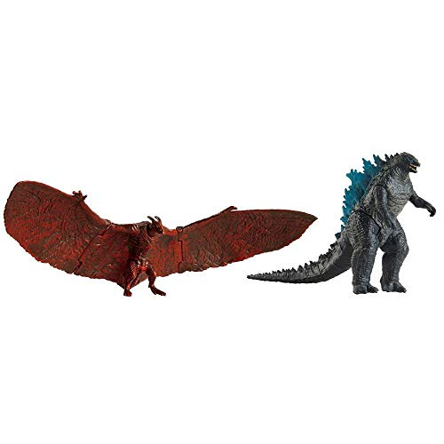 King of The Monsters Matchup Godzilla & Rodan Action Figure 2-Pack