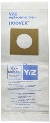 Hoover Paper Bag, Type Y & Z Allergan 3Pk