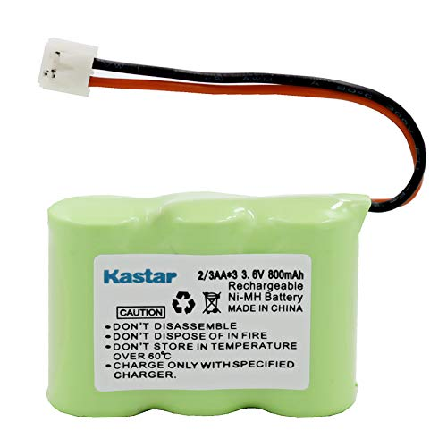 Vtech 80-5074-00-00 Cordless Phone Battery Replacement for 3-1/2AA w/JST Battery