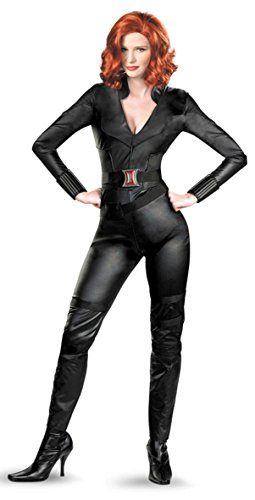Disney Store/Disney Parks Avengers Black Widow Costume Womens Size Large 12/14