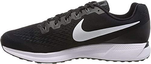 Nike Men's Air Zoom Pegasus 34 Running Shoe Black/White-Dark Grey-Anthracite
