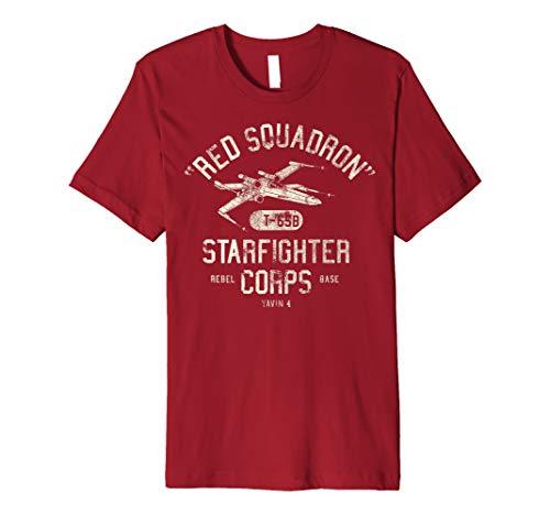 Star Wars Red Squadron Rebel Poster Premium T-Shirt