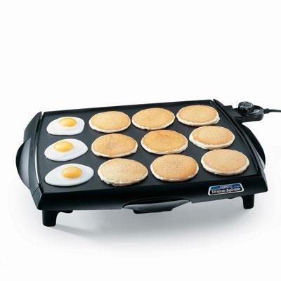 Presto Biggriddle Electric Griddle 'Prod. Type: Kitchen & Housewares/Grills Griddles & Wafflers'