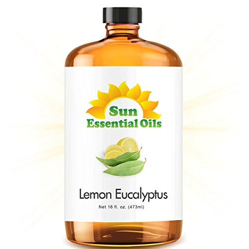 Lemon Eucalyptus Essential Oil (Huge 16oz Bottle) Bulk Lemon Eucalyptus Oil - 16 Ounce