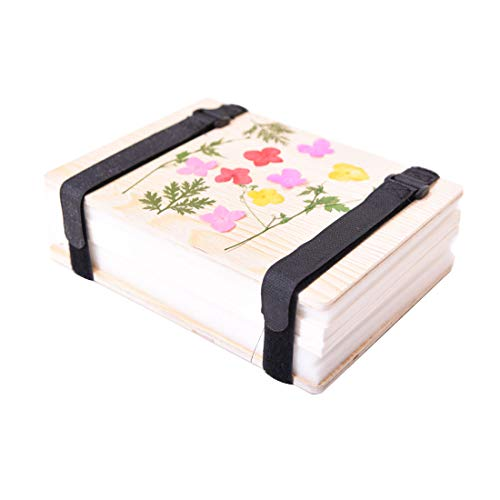A&I Flower Press,Leaf Press ,Flower Pressing Kit Flower Press Kit,Plant Specimen Pressing Kit for Beginner, Size:8.40 6.00 Inch