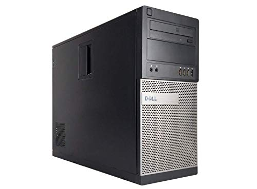 Dell Optiplex 990 Tower High Performance Business Desktop Computer, Intel Quad Core i5 up to 3.4GHz Processor, 8GB RAM, 2TB HDD, DVD, WiFi, Windows 10 Pro 64 Bit(Renewed)