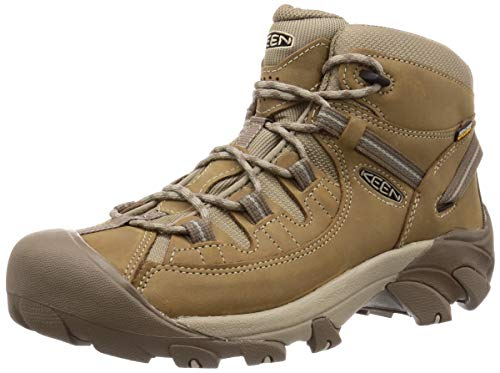 KEEN Men's Targhee II MID WP Hiking Boot, Brown, 13