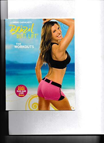Leandro Carvalho's Brazil Butt Lift – The Workouts (3 DVDs)