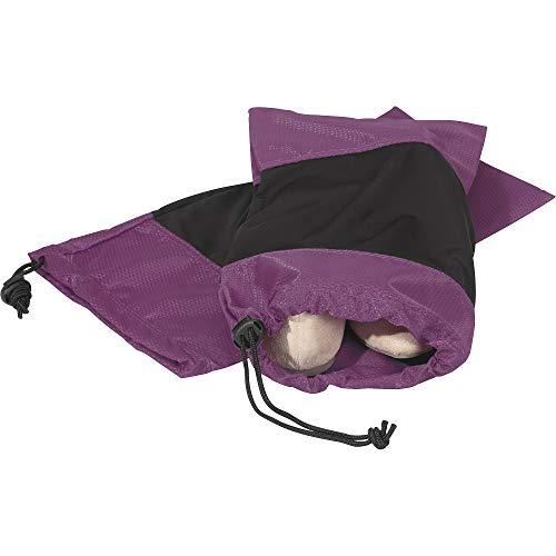 eBags Classic 2pc Shoe Sleeve (Eggplant)