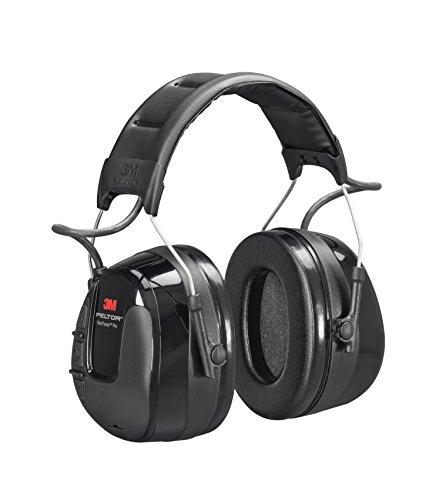 3M - 67086 PELTOR WorkTunes Pro AM/FM Radio Headset, Black, Headband