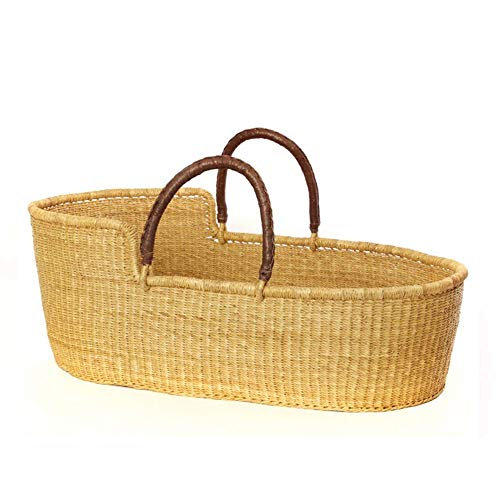 The Go-Anywhere Natural Moses Basket Bassinet