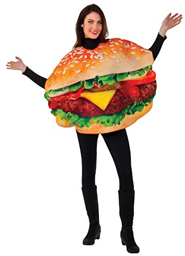Rubie's Men's Burger Costume, Multi, One Size