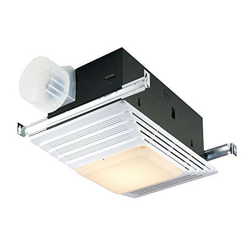 Broan-Nutone 659 Heater, Fan, and Light Combo for Bathroom and Home, 2.5 Sones, 1300-Watts, 50 CFM