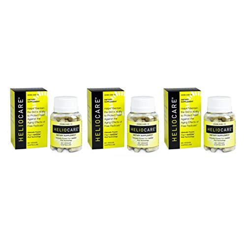 Heliocare Skin Care Formula - 60 Vegan Capsules each (Value Pack of 3)