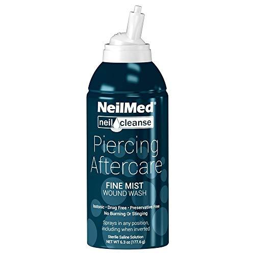 NeilMed NeilCleanse Piercing Aftercare, Fine Mist, 6 Fluid Ounce