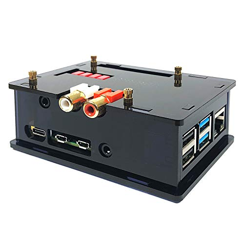 innomaker Acrylic Case DAC Hat HiFi Audio Module Works with Raspberry Pi 4 3B+ 3B 3